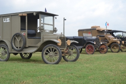 Museum vehicle lineup