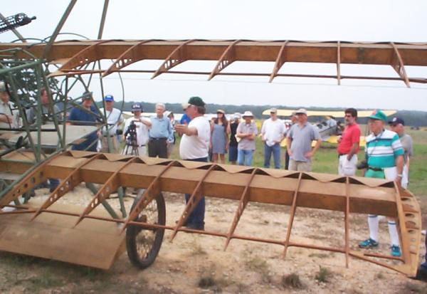 Bill Broussard talking about the Fokker Dr.I