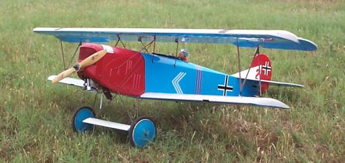 Fokker D.VII radio-controlled model