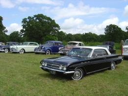 Various restored cars
