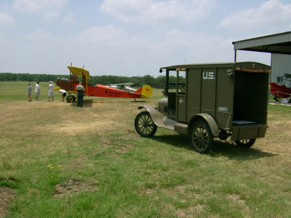 Signal Corps Model T and Curtiss Canuck