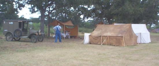 Headquarters Company encampment