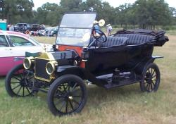 Early Model T Touring Car