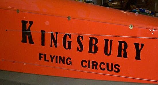 Kingsbury Flying Circus logo