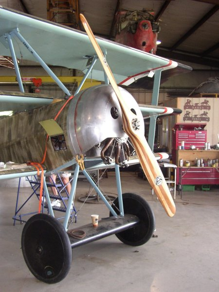 Cowling mounted