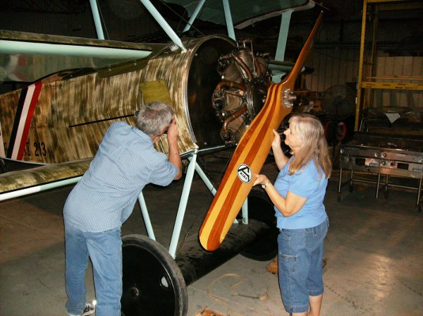 Adjusting the Triplane's timing