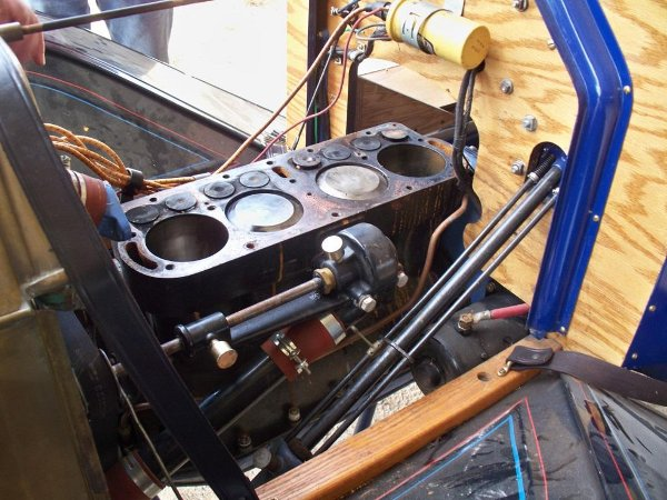 Blue Racer engine opened up