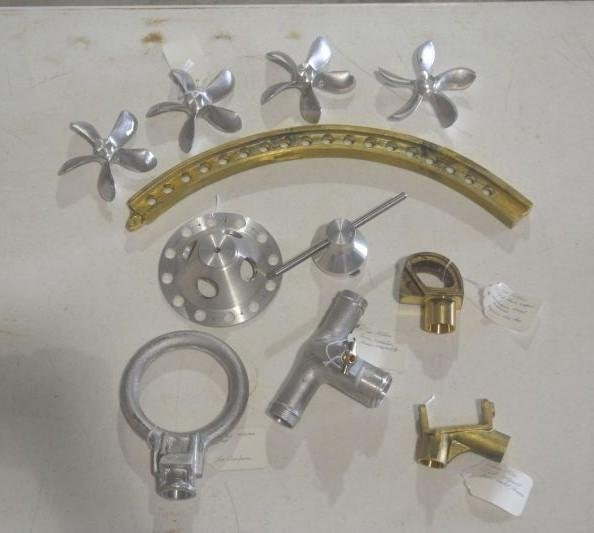 Reproduction SE5a metal parts