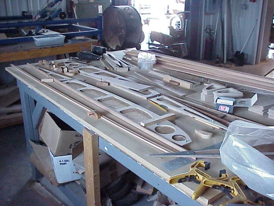 Rearwin rib jig and rib components