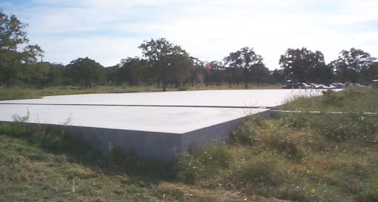 Slab Foundation for the Pioneer Flight Museum